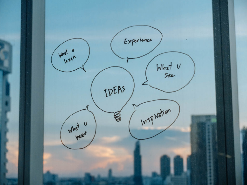 企画力、発想力を磨く方法について。