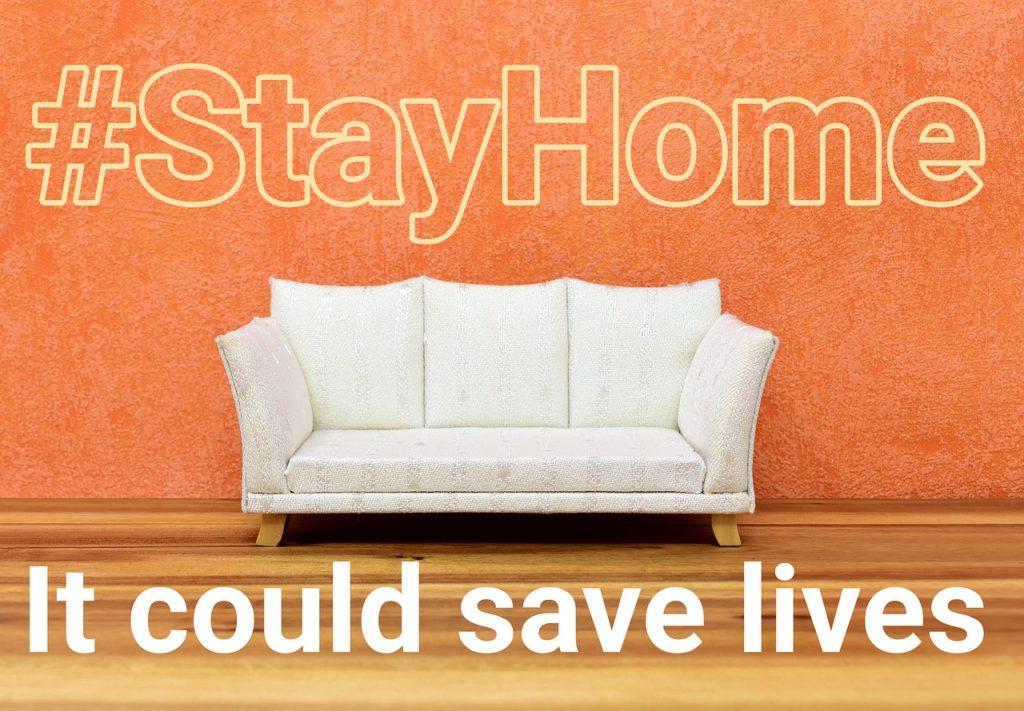 #StayHome 今は自宅でベストを尽くす時。